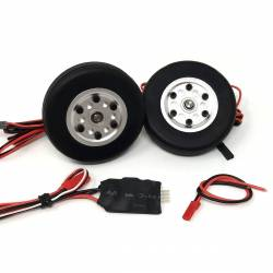 JP Hobby Electric Brake with 2 50mm Wheels (4mm axle)