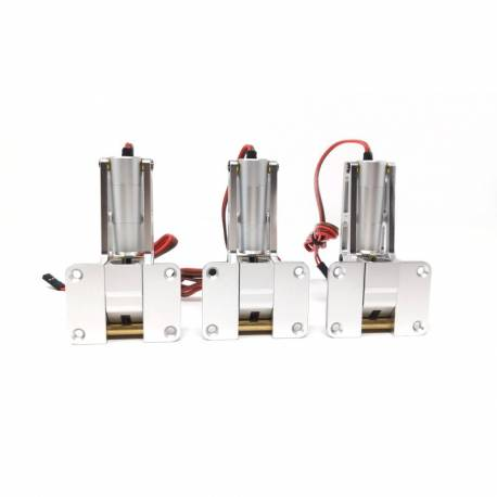 JP Hobby ER-010 / ER-120 Alloy Electric Retracts Set (Retracts Jack Side) +  Sequencer - JP HOBBY EUROPE
